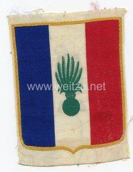Frankreich 2.Weltkrieg Vichy Regierung, Abzeichen für das Sporthemd der Französischen Streitkräfte nach den Waffenstillstand, Ausführung für die Fremdenlegion