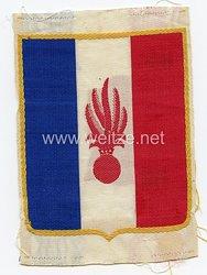 Frankreich 2.Weltkrieg Vichy Regierung, Abzeichen für das Sporthemd der Französischen Streitkräfte nach den Waffenstillstand, Ausführung für die Infanterie