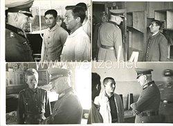 Wehrmacht Heer Fotos, General Ralph von Heygendorff besichtigt die Ausländischen Freiwilligen der162. (Turkmenische) Infanterie-Division bei ihren Dienst in der Kaserne