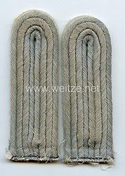 Wehrmacht Heer Paar Schulterstücke für einen Leutnant Infanterie