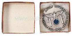 "NSDAP offizielles Teilnehmerabzeichen der NSDAP AO Landesgruppe Italien zum ""Staatsbesuch Adolf Hitlers in Italien 1938"""