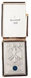 III. Reich - Reichsverband für das Deutsche Hundewesen ( RDH ) - Gau-Plakette