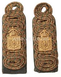 Deutsches Reich Reichslande Elsass-Lothringen Paar Schulterstücke für Militärbeamte