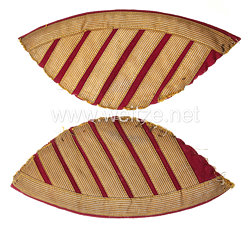 Preußen Paar Schwalbennester für einen Musker im Husaren-Regiment von Schill (1. Schlesisches) Nr. 4,