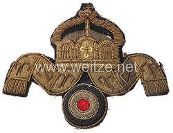 Kaiserliche Marine Schirmmützenabzeichen für Decksoffiziere