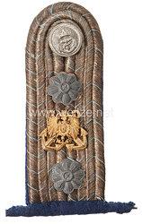 Kaiserliche Marine Einzel Schulterstücke für einen Intendanturassessor