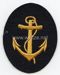 Kriegsmarine Ärmelabzeichen Bootsmannsmaat