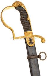 Mecklenburg Löwenkopfsäbel aus dem persönlichen Besitz von Friedrich Franz IV. von Mecklenburg-Schwerin