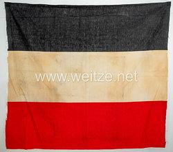 Deutsches Reich - Nationalfahne schwarz/weiß/rot
