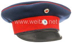 Bayern Schirmmütze für einen Offizier der Infanterie