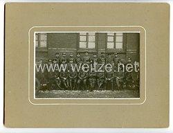 Deutsches Kaiserreich Foto, Angehörige einer Kraftfahr-Abteilung