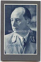 III. Reich - Originalunterschrift von Rudolf Jordan, Gauleiter von Halle-Merseburg und Magdeburg-Anhalt