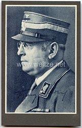 III. Reich - Originalunterschrift von Reichsarbeitsminister Franz Seldte