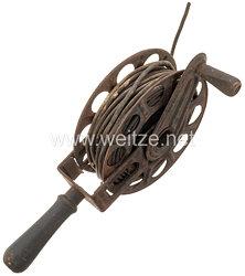 Wehrmacht - Luftwaffe Handkabelrolle