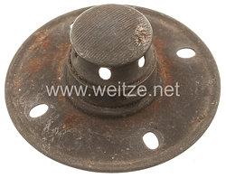 Preußen 1. Weltkrieg feldgrau Teller für die Pickelhaube für Mannschaften Infanterie bzw. Artillerie