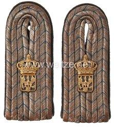 Preußen Paar Schulterstücke für einen Kanzleisekretär