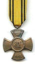Württemberg Wilhelmskreuz für Verdienste um die öffentliche Wohlfahrt, 1915