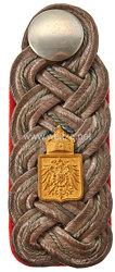 Deutsches Reich Reichslande Elsass-Lothringen Einzel Schulterstück für einen Militärbeamten