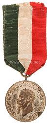 Königreich König Vittorio Emanuele III. Silberne Verdienstmedaille