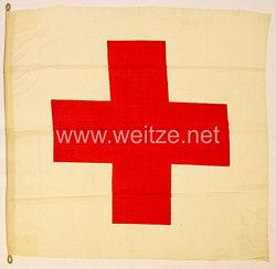 Bundesrepublik Deutschland (BRD) - Fahne für das Deutsches Rotes Kreuz DRK)