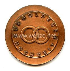 Bundesrepublik Deutschland ( BRD ) - Medaille Zur Goldenen Hochzeit Hamburg