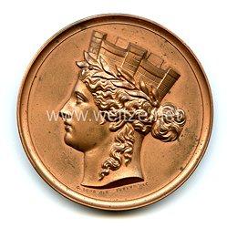 Deutsches Kaiserreich - Hamburgische Ehrendenkmünze in Bronze an Dr. Richard Koch (Reichsbank)