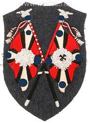 Luftwaffe Ärmelabzeichen für Fahnenträger der Flakartillerie