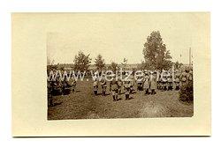 Deutsches Kaiserreich Foto, Heeresgeistliche bei der Truppe