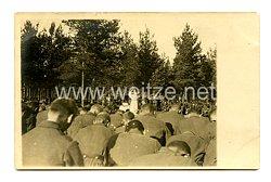 Deutsches Kaiserreich Foto, Geistlicher beim Gottesdienst