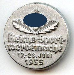 III. Reich - Reichs-Sport-Werbewoche 17.-23. Juni 1935