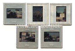 Bundesrepublik Deutschland ( BRD ) Farb Dias, US Soldaten mit Panzern an der Mauer in Berlin