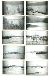 III. Reich Fotos, Aufnahmen vom Hamburger Hafen bei der Ankunft von KDF-Schiffen
