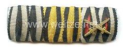 Bandspange für einen K.u.K Veteranen des 1. Weltkriegs