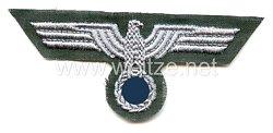 Wehrmacht Heer Brustadler für Mannschaften, Ausführung für den Drillichrock
