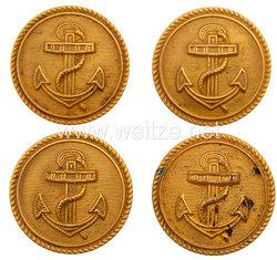 Reichsmarine 4 Uniformknöpfe