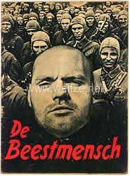 De Beestmensch ( Der Untermensch als holländische Ausgabe )