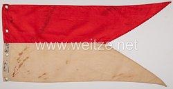 Reichswehr Hessen Lanzenflagge für Mannschaften des (Hessischen) Reiter-Regiment Nr. 16, Maschinengewehr-Zug