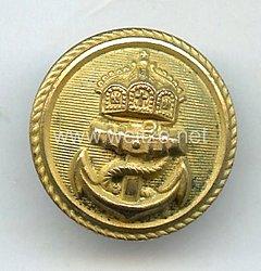 Kaiserliche Marine Knopf für Offiziere