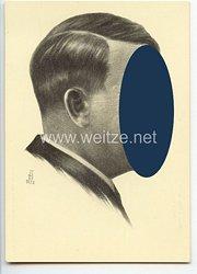 "III. Reich - Propaganda-Postkarte - "" Adolf Hitler """