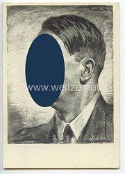 """III. Reich - Propaganda-Postkarte - """" Adolf Hitler - Unser Führer """""""