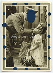 """III. Reich - Propaganda-Postkarte - """" Adolf Hitler und die Jugend """""""