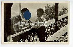 """III. Reich - Propaganda-Postkarte - """" Der Reichskanzler Adolf Hitler in den geliebten Bergen """""""