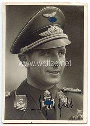 Luftwaffe - Originalunterschrift von Ritterkreuzträger Hauptmann Herbert Ihlefeld