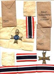 Kriegsverdienstkreuz 1939 2. Klasse in der Verleihungstüte