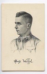 """III. Reich - Propaganda-Postkarte - """" Horst Wessel """""""