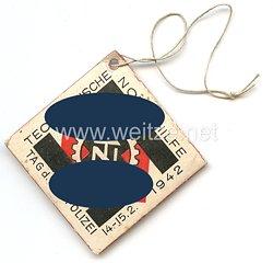 Technische Nothilfe ( TeNo ) - Tag der Deutschen Polizei 14.-15.2.1942