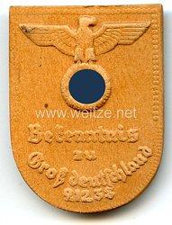 III. Reich - Bekenntnis zu Großdeutschland 9.12.1938