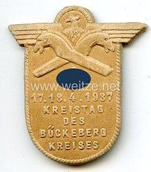 III. Reich - Kreistag des Bückeberg Kreises 17.-18.4.1937