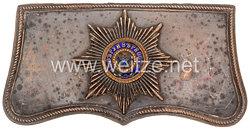 Zaristisches Russland Kartuschkasten für Offiziere des Chevalier-Garde-Regiments bzw. des Leibgarde-Kürassier-Regiments