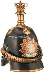 Mecklenburg-Schwerin Helm Modell 1847 für Mannschaften des Grenadier-Garde-Bataillon